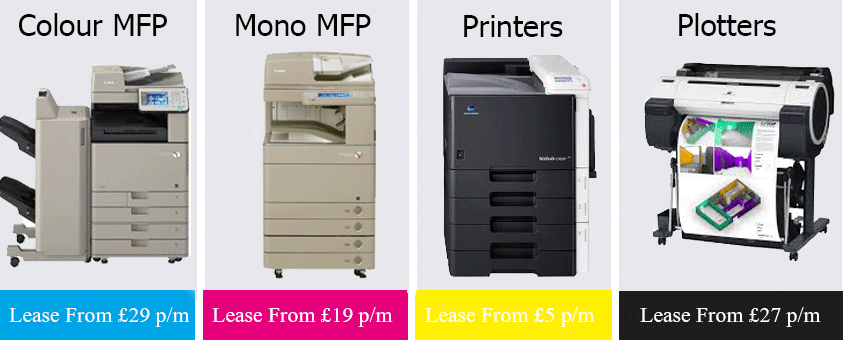 refurbished photocopiers Wigan